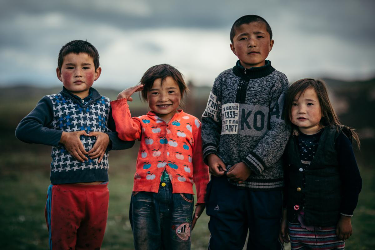Kazakh kids have never eaten a vegetable in their life, but some studies suggest Mongolian kids are the healthiest on the planet.