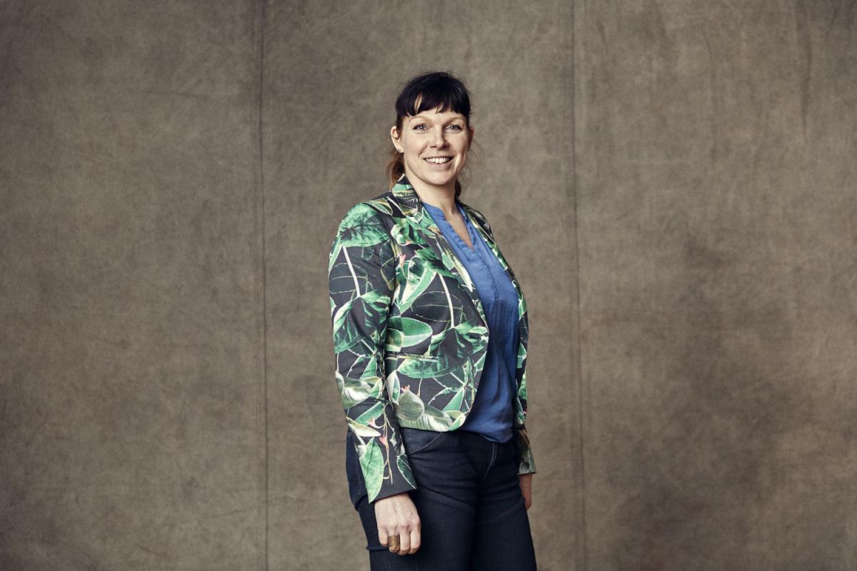 Aniela Hoitink, founder of NEFFA and MycoTEX.