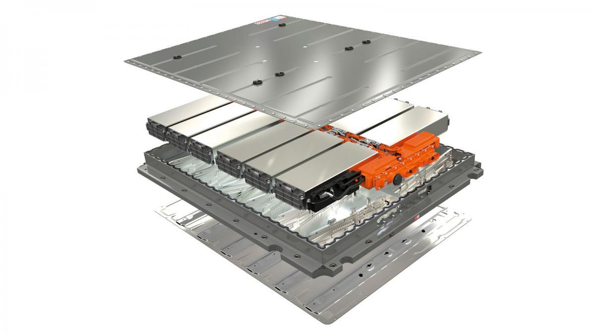 Internal parts of Nexus battery
