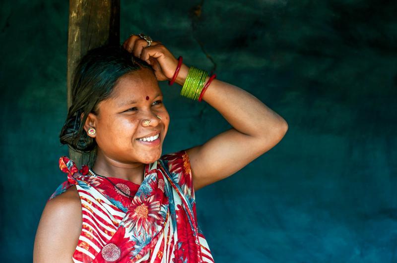 Paraja woman in Koraput India