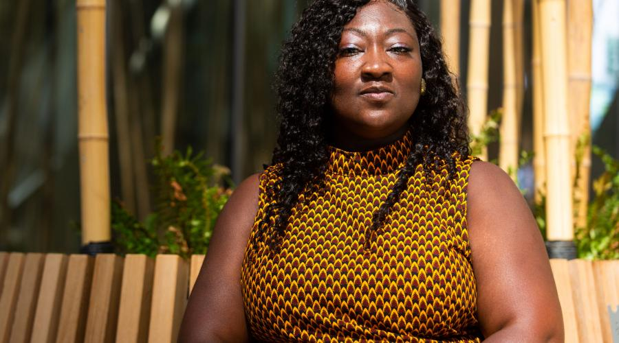 Lady Phyll, born Phyll Opoku-Gyimah. Photographed by Corinne Cumming for UK Black Pride.